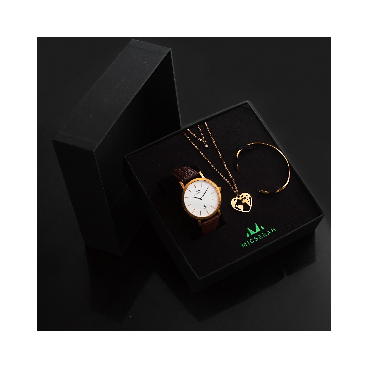 CLASSIC-Brown Love Charm Complete Giftset