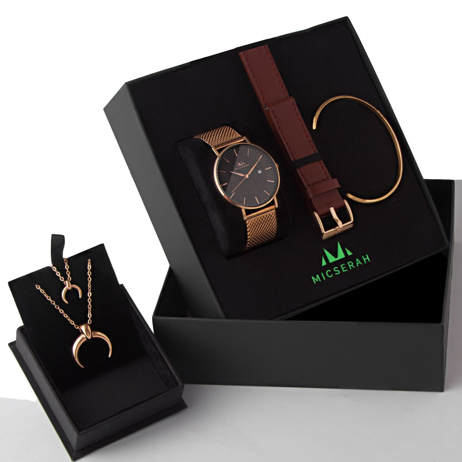 MOTIVE ROSE GOLD GIFT SET