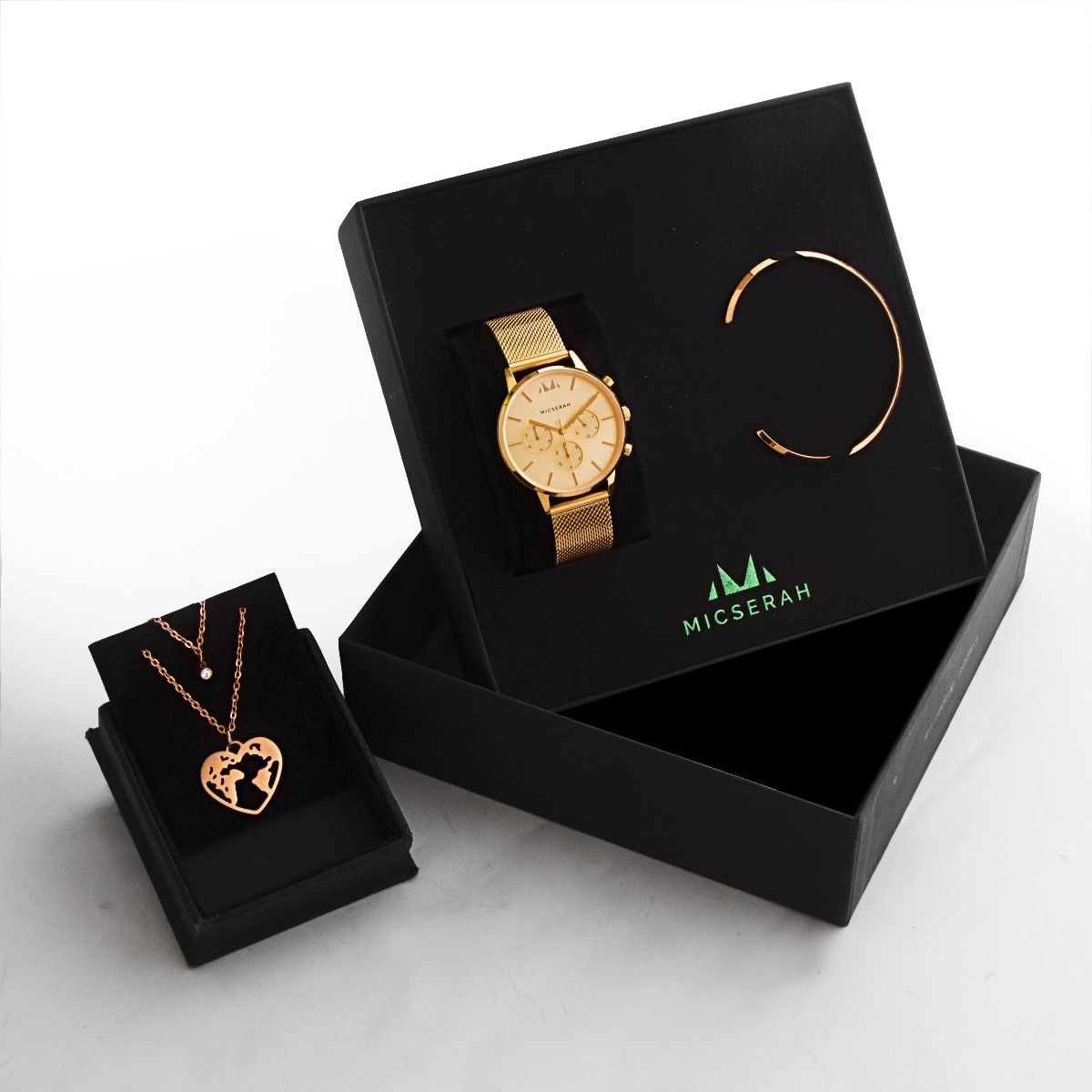 BOVA YELLOW GOLD COMPLETE GIFT SET